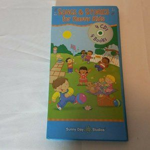 Sing Along Songs & Stories Happy Kids 4 CDs Books